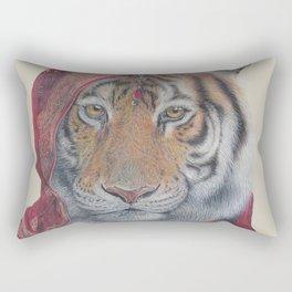 Indian Tiger Rectangular Pillow