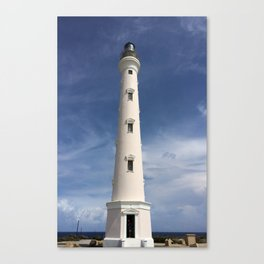Aruba Lighthouse Canvas Print