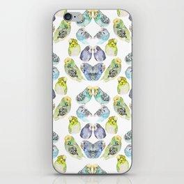 Budgie Kaleidoscope  iPhone Skin