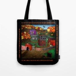 Halloween Dream Town Tote Bag