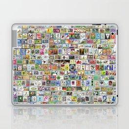 Soccer Stamps Laptop & iPad Skin