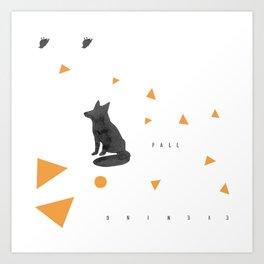 Fall Evening Art Print