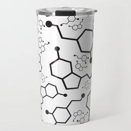 Serotonin and Dopamine Travel Mug