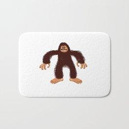 Angry bigfoot Bath Mat
