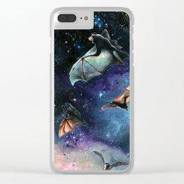 Scream of a Great Bat Clear iPhone Case