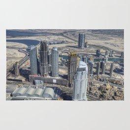 Dubai From The Air Rug