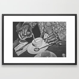 Sugar Pimp Framed Art Print