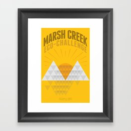 Marsh Creek Eco-Challenge 2015; Shirt Art Framed Art Print