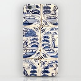 Dutch Delft Blue Tiles iPhone Skin