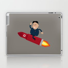 The Nuclear Rider Laptop & iPad Skin