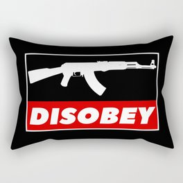 DISOBEY Rectangular Pillow