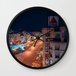 Citgo sign in Boston Wall Clock