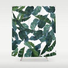 Banana Leaf Decor #society6 #decor #buyart Shower Curtain