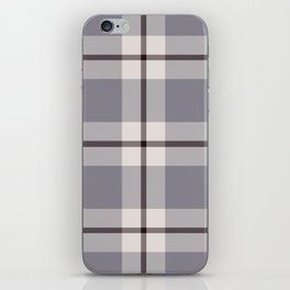 big light weave monochrome iPhone Skin