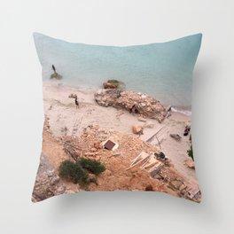 Ibiza, Cala Salada Throw Pillow