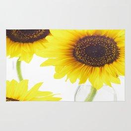 Three Sunflowers Rug
