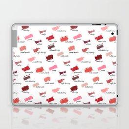 Lipstick colors Laptop & iPad Skin