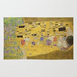 The Kiss by Gustav Klimt Rug