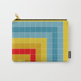 Grid in Roller Rink Carry-All Pouch