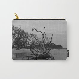 Ghost Trees - Driftwood Beach Carry-All Pouch
