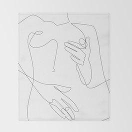 Sensual Erotic Throw Blanket