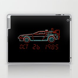 You Built a Time Machine...Out of a DeLorean? Laptop & iPad Skin