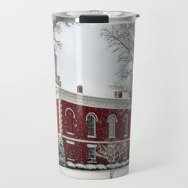 Side View of the Iron County Courthouse Travel Mug
