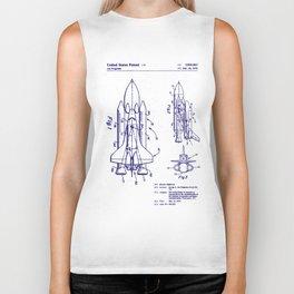 1975 NASA Space Shuttle Patent Biker Tank