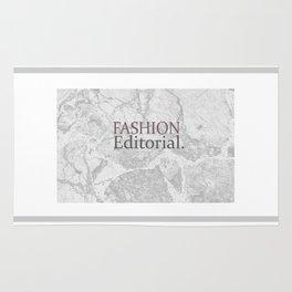 Fashion City: Fashion Editorial Rug