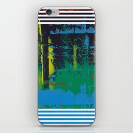 Color Chrome - Line graphic iPhone Skin