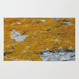 Yellow liches Rug
