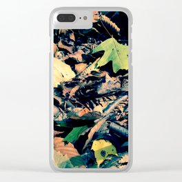 Fall Frolic Clear iPhone Case