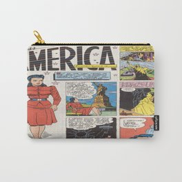 Miss America Quality Comics Carry-All Pouch