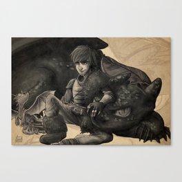 Dragon Trainer - HTTYD Canvas Print