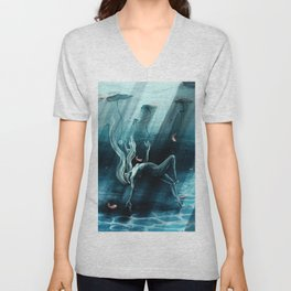 Dance of the Waterlily Unisex V-Neck