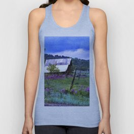 Purple Dames Rocket Ranch Saturated by CheyAnne Sexton Unisex Tank Top