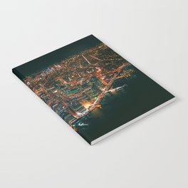 City of Lights New York City (Color) Notebook