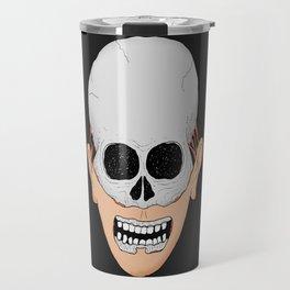 beardy skull Travel Mug