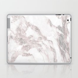 White Marble Mountain 012 Laptop & iPad Skin