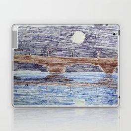 Bridge at night Laptop & iPad Skin