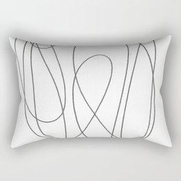 Line Nude 2 Rectangular Pillow