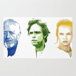 Ben, Luke and Rey Rug
