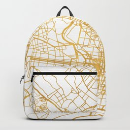 PHILADELPHIA PENNSYLVANIA CITY STREET MAP ART Backpack