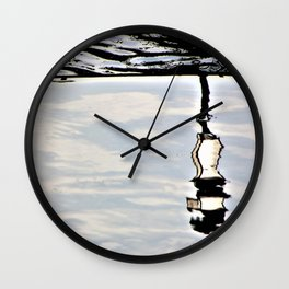 Lamp reflection upsidedown Wall Clock