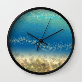 Abstract Seascape 04 wc Wall Clock