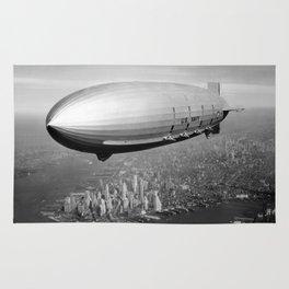 Airship over New York Rug