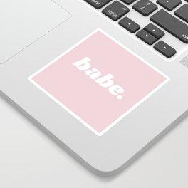 babe Sticker