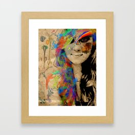 Color Found Framed Art Print