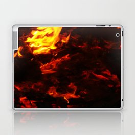 Red Hot FIre Laptop & iPad Skin