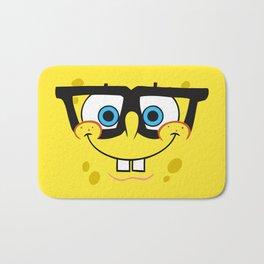 Spongebob Nerd Face Bath Mat